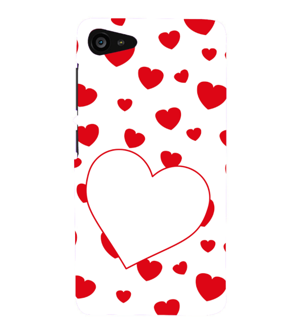 Loving Hearts Back Cover for Lenovo ZUK Z2