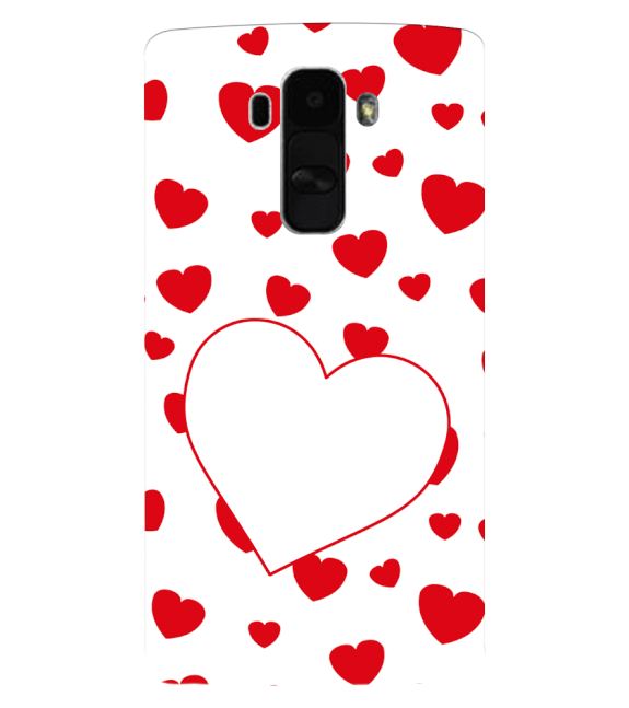 Loving Hearts Back Cover for LG G4 Stylus