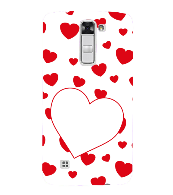 Loving Hearts Back Cover for LG K10