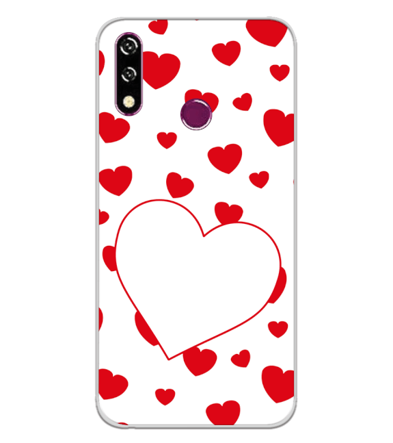 Loving Hearts Back Cover for LG W10