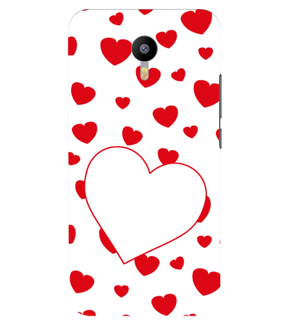 Loving Hearts Back Cover for Meizu M2