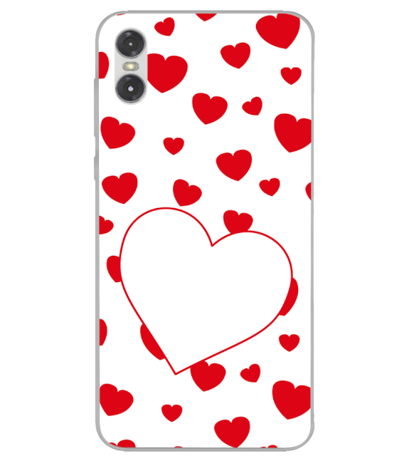Loving Hearts Back Cover for Motorola One (P30 Play)