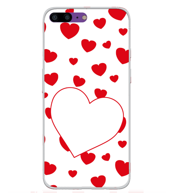 Loving Hearts Back Cover for OnePlus 5