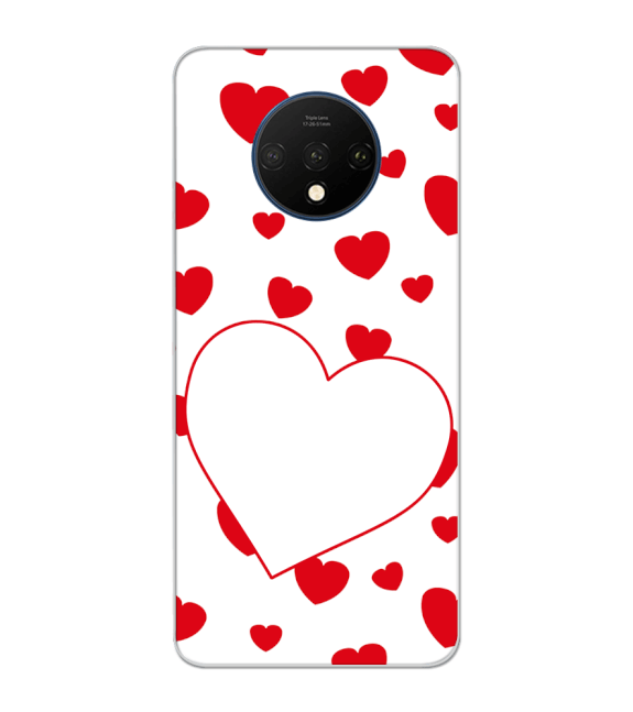 Loving Hearts Back Cover for OnePlus 7T