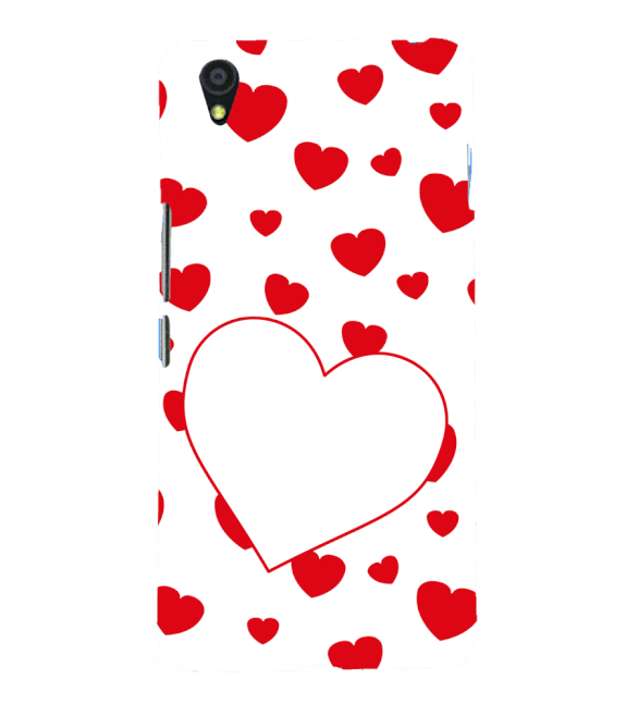 Loving Hearts Back Cover for OnePlus X
