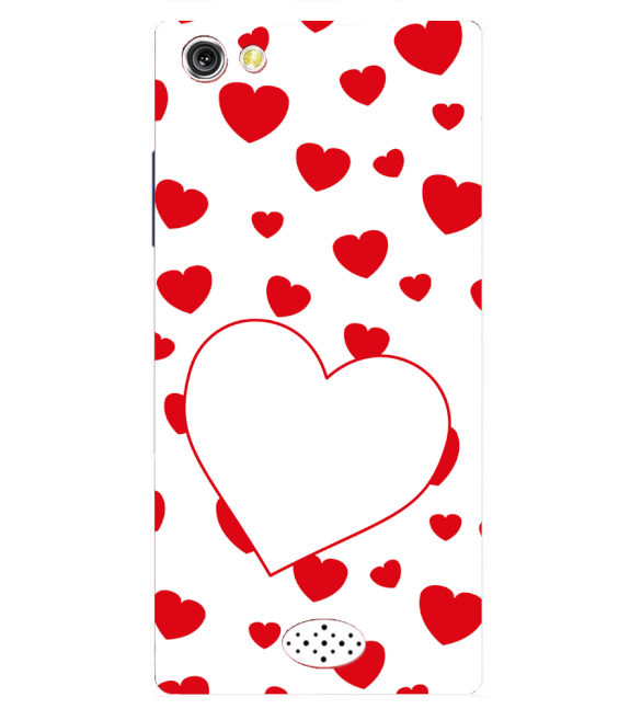 Loving Hearts Back Cover for Oppo Neo 5