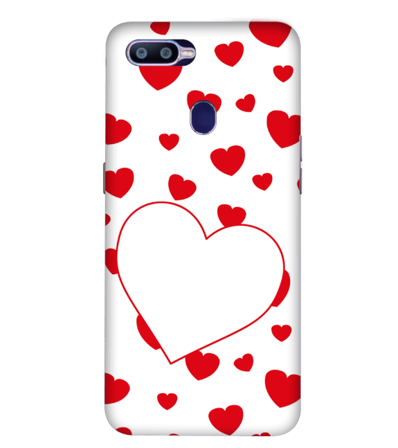 Loving Hearts Back Cover for Oppo R15 Pro