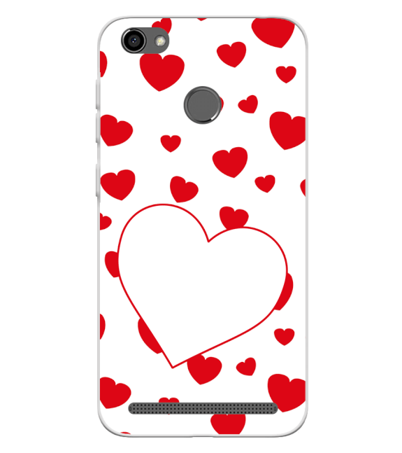 Loving Hearts Back Cover for Panasonic P85 NXT