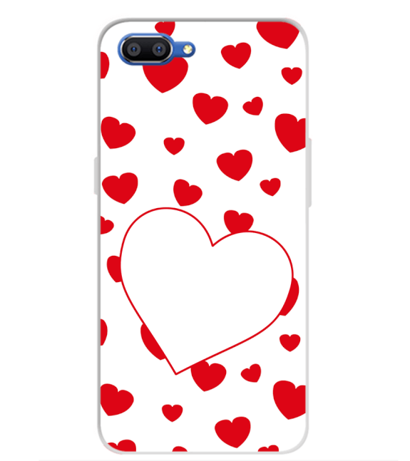 Loving Hearts Back Cover for Realme C1 (2019)