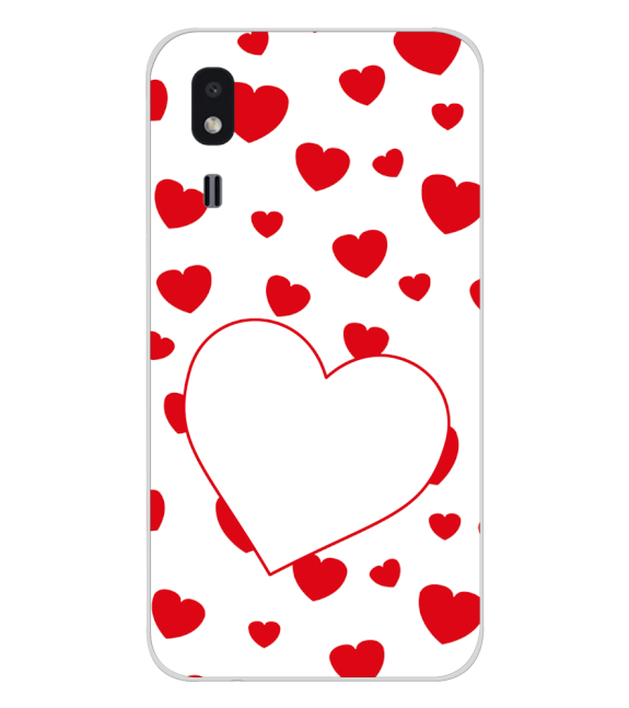 Loving Hearts Back Cover for Samsung Galaxy A2 Core