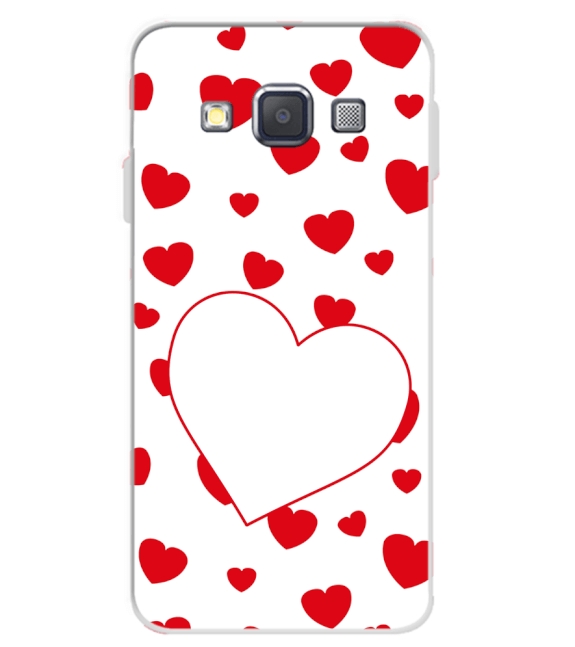 Loving Hearts Back Cover for Samsung Galaxy A3 (2015)