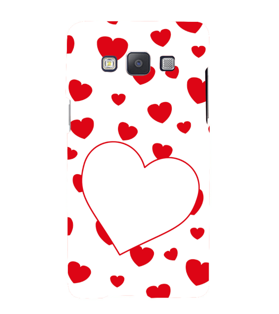 Loving Hearts Back Cover for Samsung Galaxy A7 (2015)