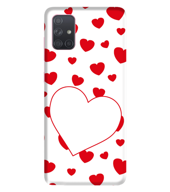 Loving Hearts Back Cover for Samsung Galaxy A71
