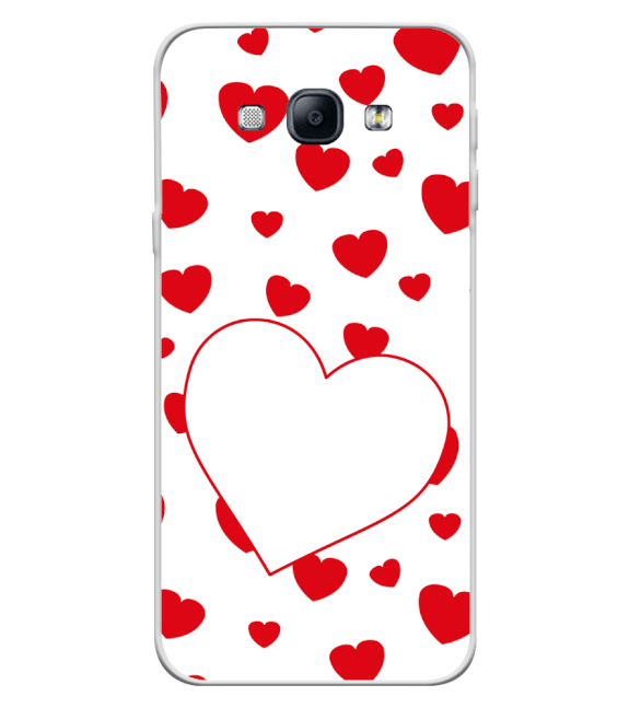 Loving Hearts Back Cover for Samsung Galaxy A8 (2015)