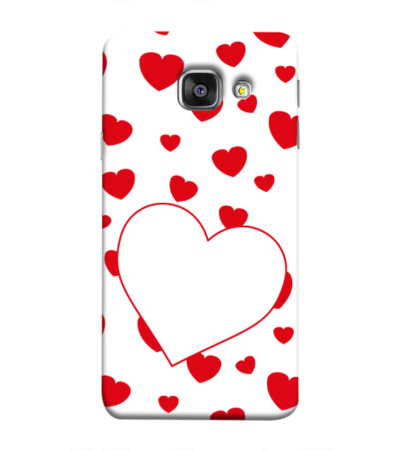 Loving Hearts Back Cover for Samsung Galaxy A9 Pro