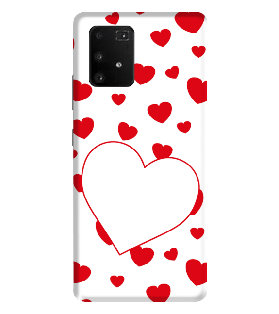 Loving Hearts Back Cover for Samsung Galaxy A91
