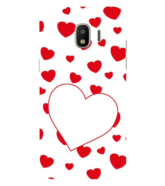 Loving Hearts Back Cover for Samsung Galaxy J2 (2018)