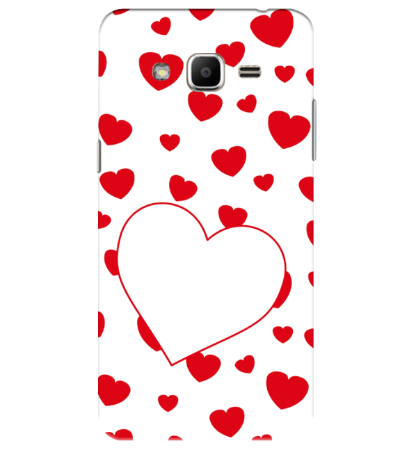 Loving Hearts Back Cover for Samsung Galaxy J2 Ace