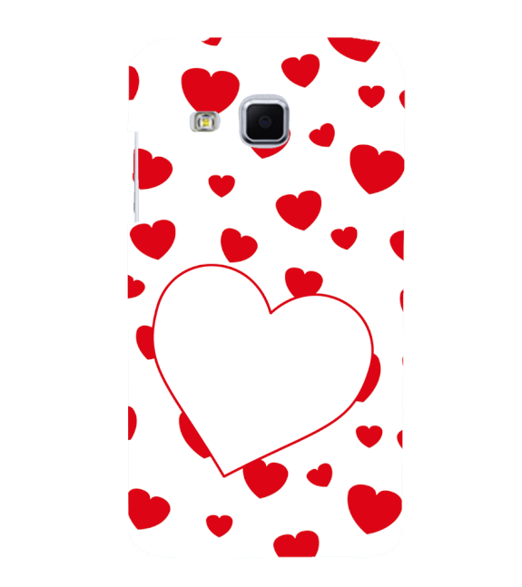 Loving Hearts Back Cover for Samsung Galaxy J3