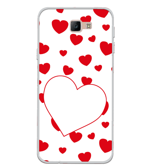 Loving Hearts Back Cover for Samsung Galaxy J7 Prime (2016)