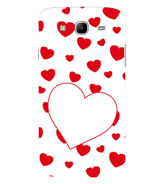 Loving Hearts Back Cover for Samsung Galaxy Mega 5.8 I9150