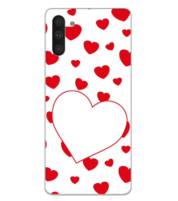 Loving Hearts Back Cover for Samsung Galaxy Note 10