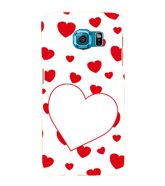 Loving Hearts Back Cover for Samsung Galaxy S6 Edge