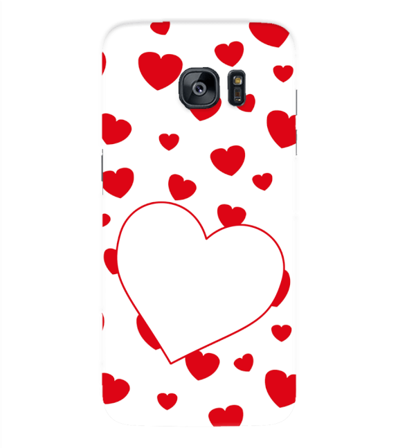 Loving Hearts Back Cover for Samsung Galaxy S7 Edge