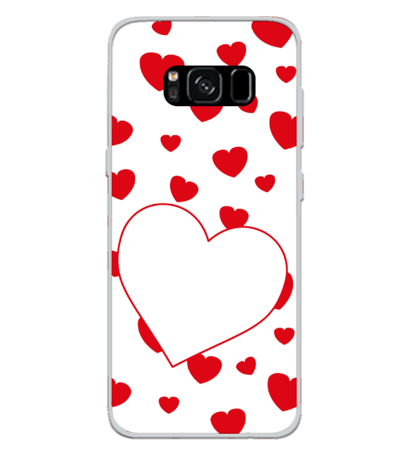 Loving Hearts Back Cover for Samsung Galaxy S8