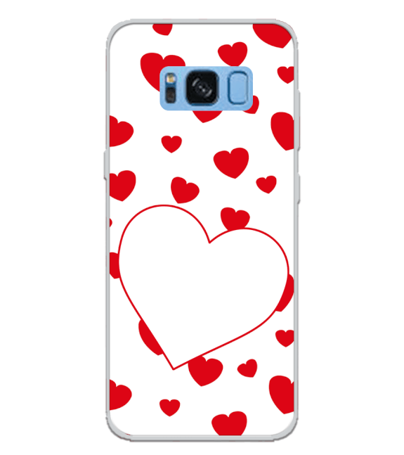 Loving Hearts Back Cover for Samsung Galaxy S8 Plus