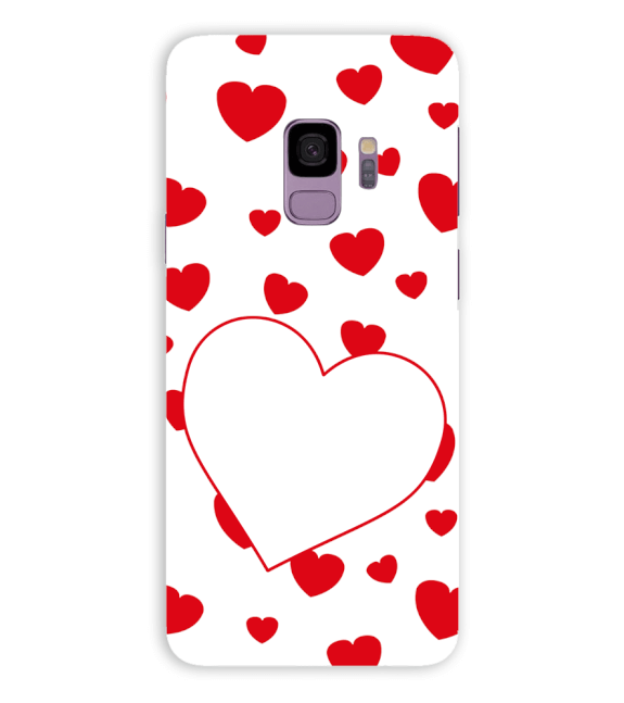 Loving Hearts Back Cover for Samsung Galaxy S9