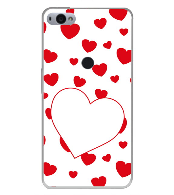 Loving Hearts Back Cover for Smartron SRT Phone