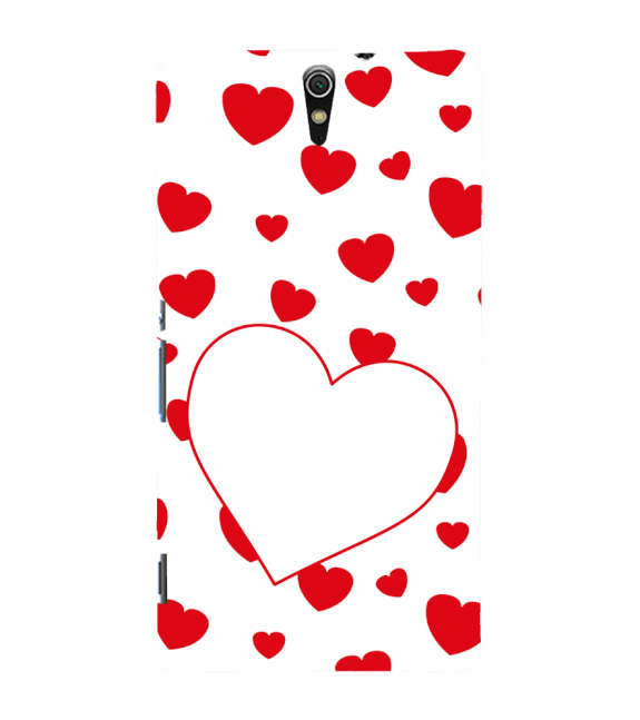 Loving Hearts Back Cover for Sony Xperia C5