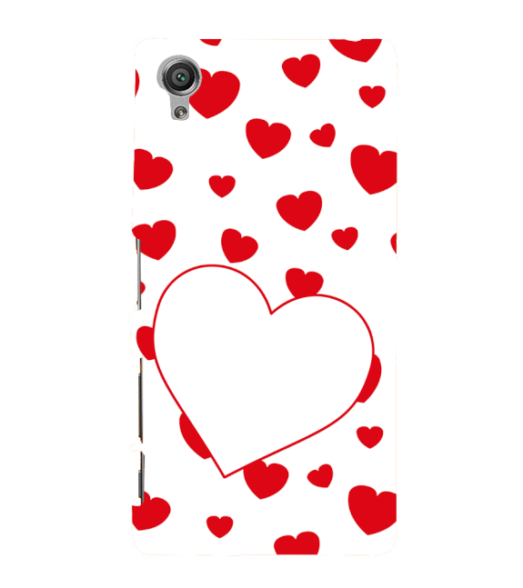 Loving Hearts Back Cover for Sony Xperia X