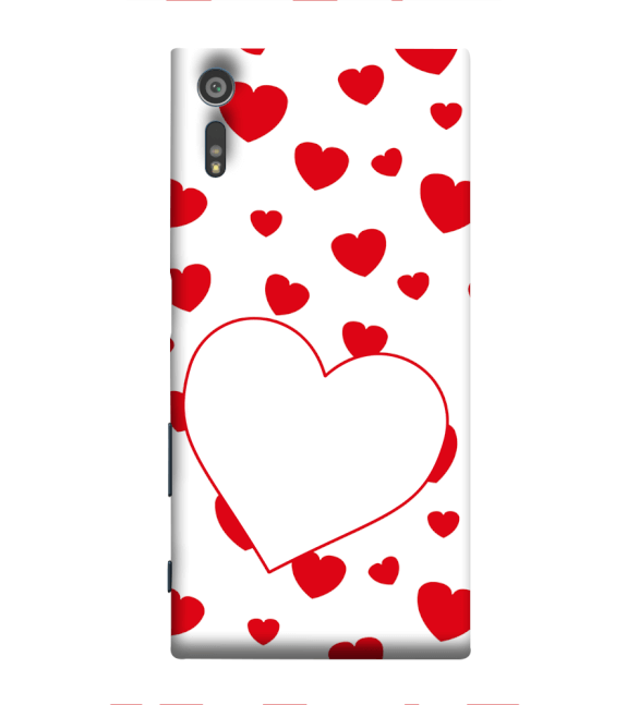 Loving Hearts Back Cover for Sony Xperia XR