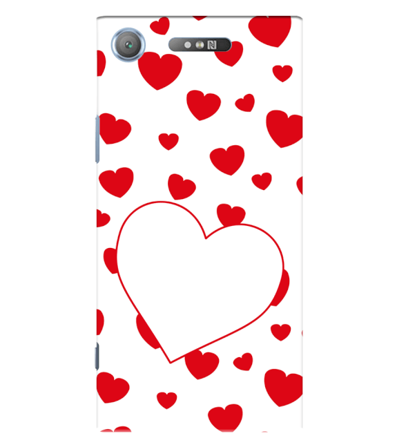 Loving Hearts Back Cover for Sony Xperia XZ1