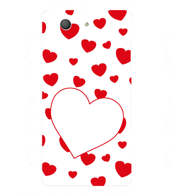 Loving Hearts Back Cover for Sony Xperia Z3+ and Xperia Z4