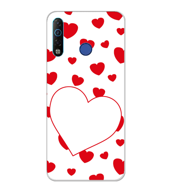 Loving Hearts Back Cover for Tecno Camon 12 Air