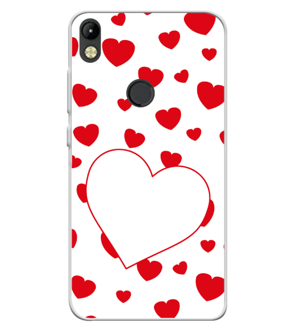 Loving Hearts Back Cover for Tecno Camon I