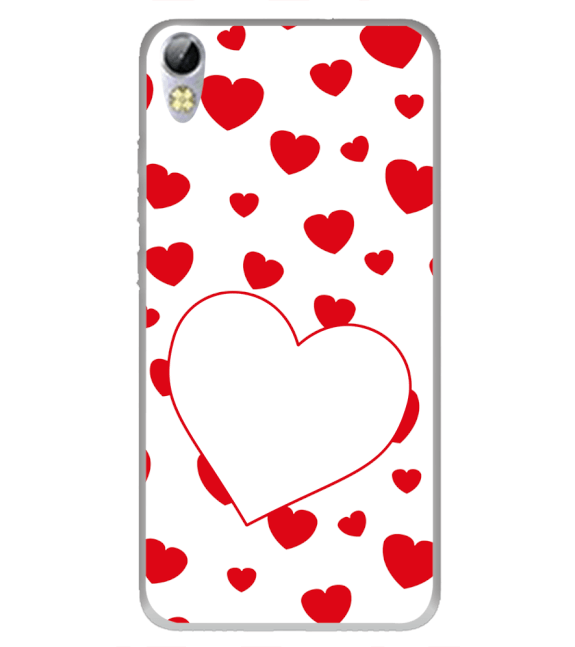 Loving Hearts Back Cover for Tecno I3 Pro