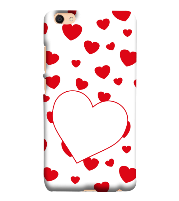 Loving Hearts Back Cover for Vivo V5 : V5s