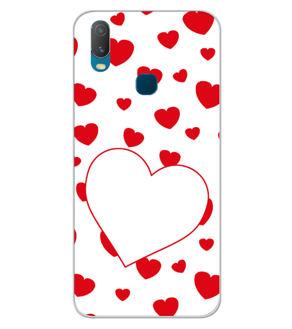 Loving Hearts Back Cover for Vivo Y11 (2019)