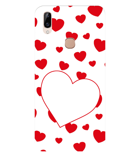 Loving Hearts Back Cover for Vivo Y83 Pro