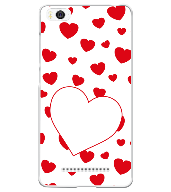 Loving Hearts Back Cover for Xiaomi Mi 4i