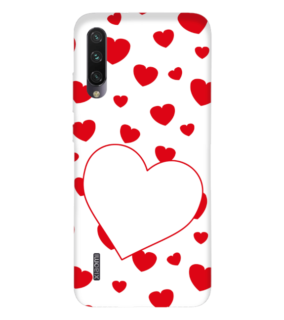 Loving Hearts Back Cover for Xiaomi Mi A3