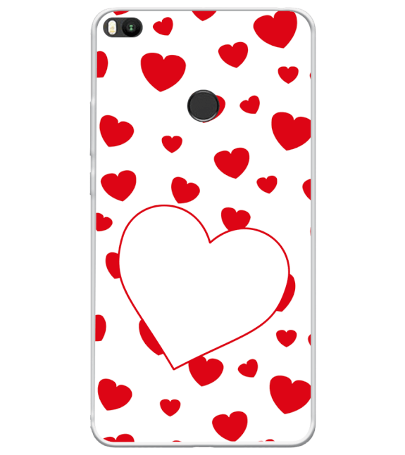 Loving Hearts Back Cover for Xiaomi Mi Max 2