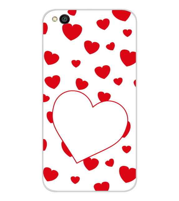 Loving Hearts Back Cover for Xiaomi Redmi Go