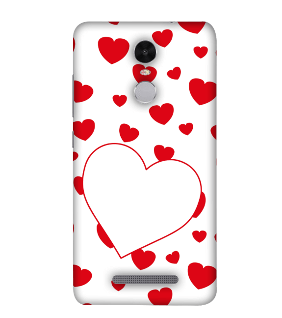 Loving Hearts Back Cover for Xiaomi Redmi Note 4
