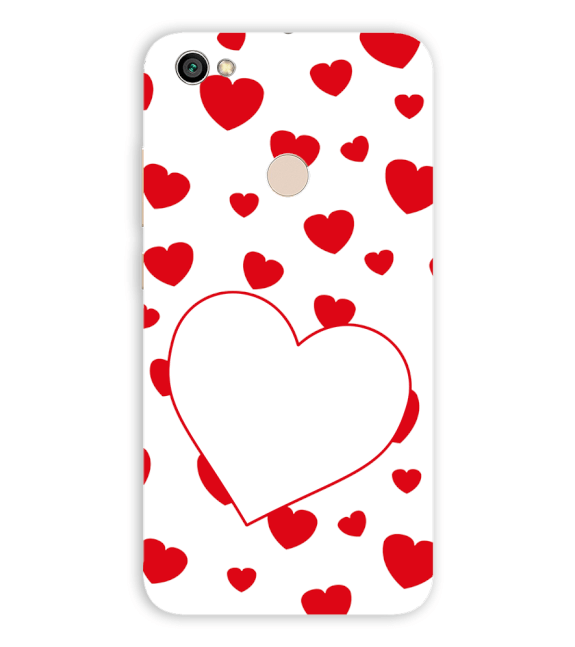 Loving Hearts Back Cover for Xiaomi Redmi Y1