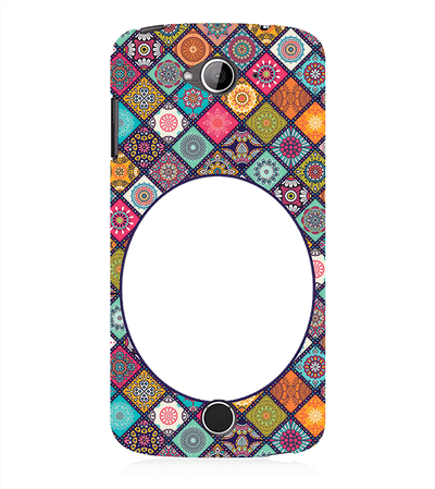 Mandala Photo Back Cover for